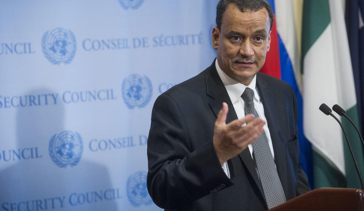 المبعوث الخاص للأمم المتحدة إلى اليمن إسماعيل ولد الشيخ أحمد