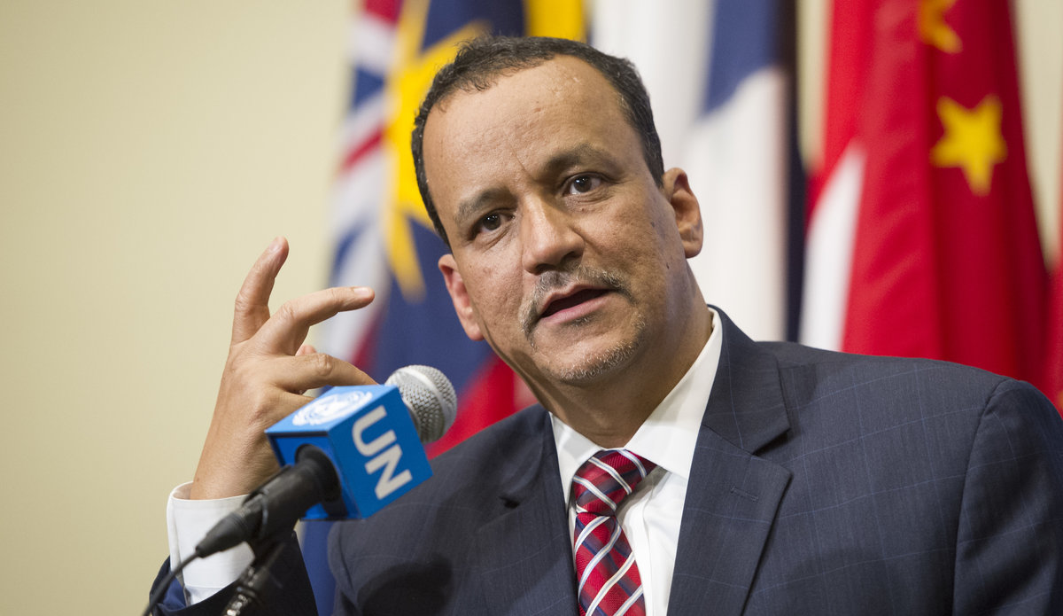 Ismail Ould Cheikh Ahmed, the Secretary General's Special Envoy for Yemen. UN Photo/Rick Bajornas