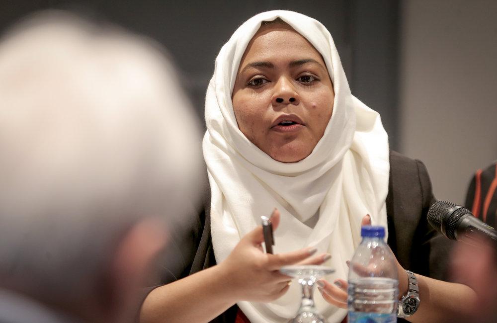 Head of ORGinfo Int. project, Marwa Ba'abbad