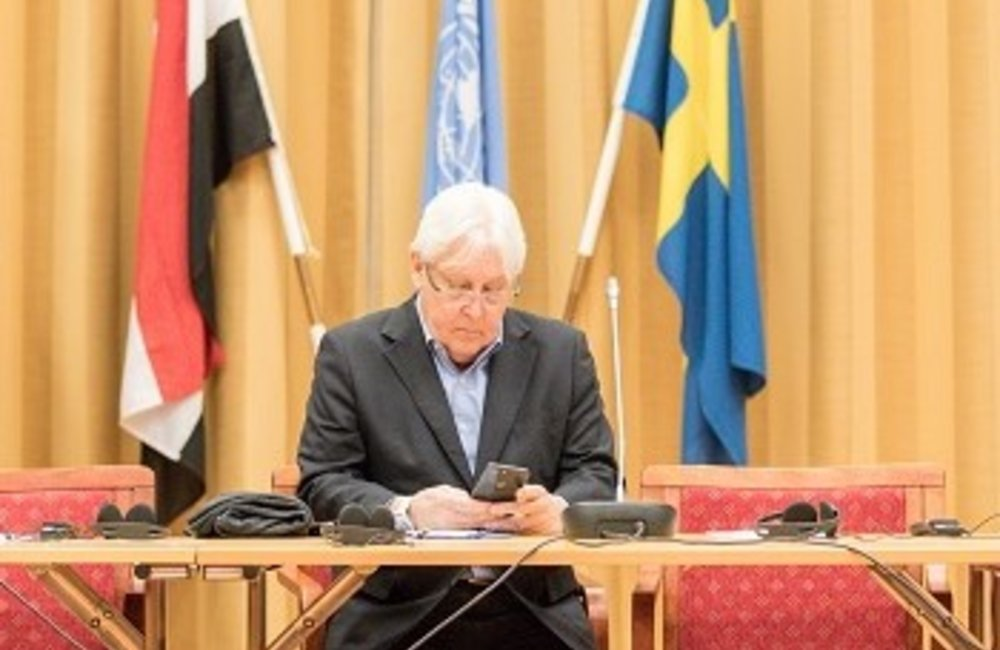 SE Griffiths and OSESGY expressed the commitment of the UN to work with the two parties for implementing the agreements reached in Sweden, and to reach agreements on other issues.(Photo Credit: Ninni Andersson/Government Offices of Sweden/UN Pool)