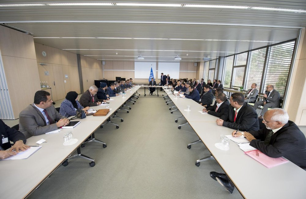 Yemen Peace Talks, Geneva, December 2015. UN Photo
