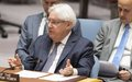 Special Envoy briefs the Security Council and announces consultations in September in Geneva
