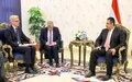 المبعوث الأممي الخاص هانس غروندبرغ يختتم زيارته الأولى إلى اليمن