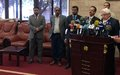Special Envoy's Remarks to the Press at the end of a 3-day visit to Sana'a