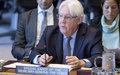 إحـــــاطة المبعوث الخاص للأمين العام للأمم المتحدة الى اليمن، السيد مارتن غريفيث الى مجلس الأمن  15 أيار/مايو 2019
