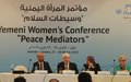 "Griffiths to Yemeni Women Conference: ""We have to walk an uphill"""