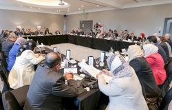 The Office of the Special Envoy of the Secretary-General for Yemen (OSESGY) hosted a consultative meeting with a group of Yemeni public and political figures in Amman