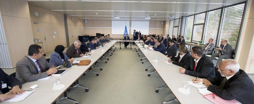 Yemen Peace Talks, Geneva, December 2015. UN Photo